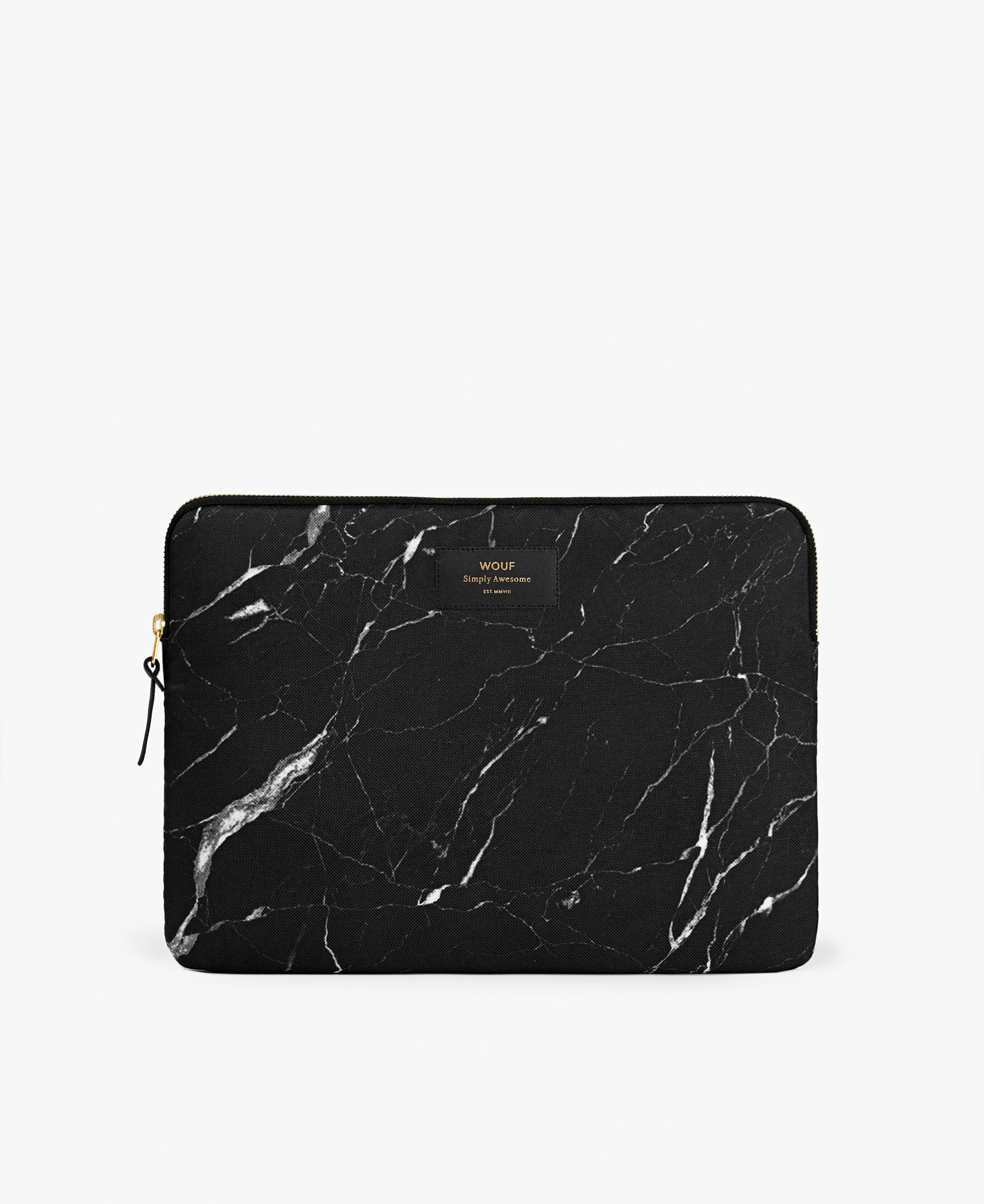 black laptop cover