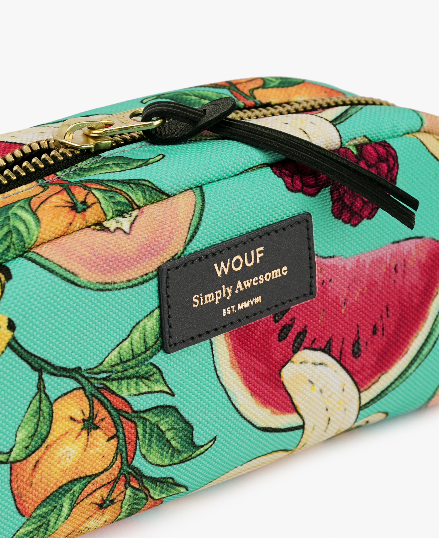 colorful toiletry bag