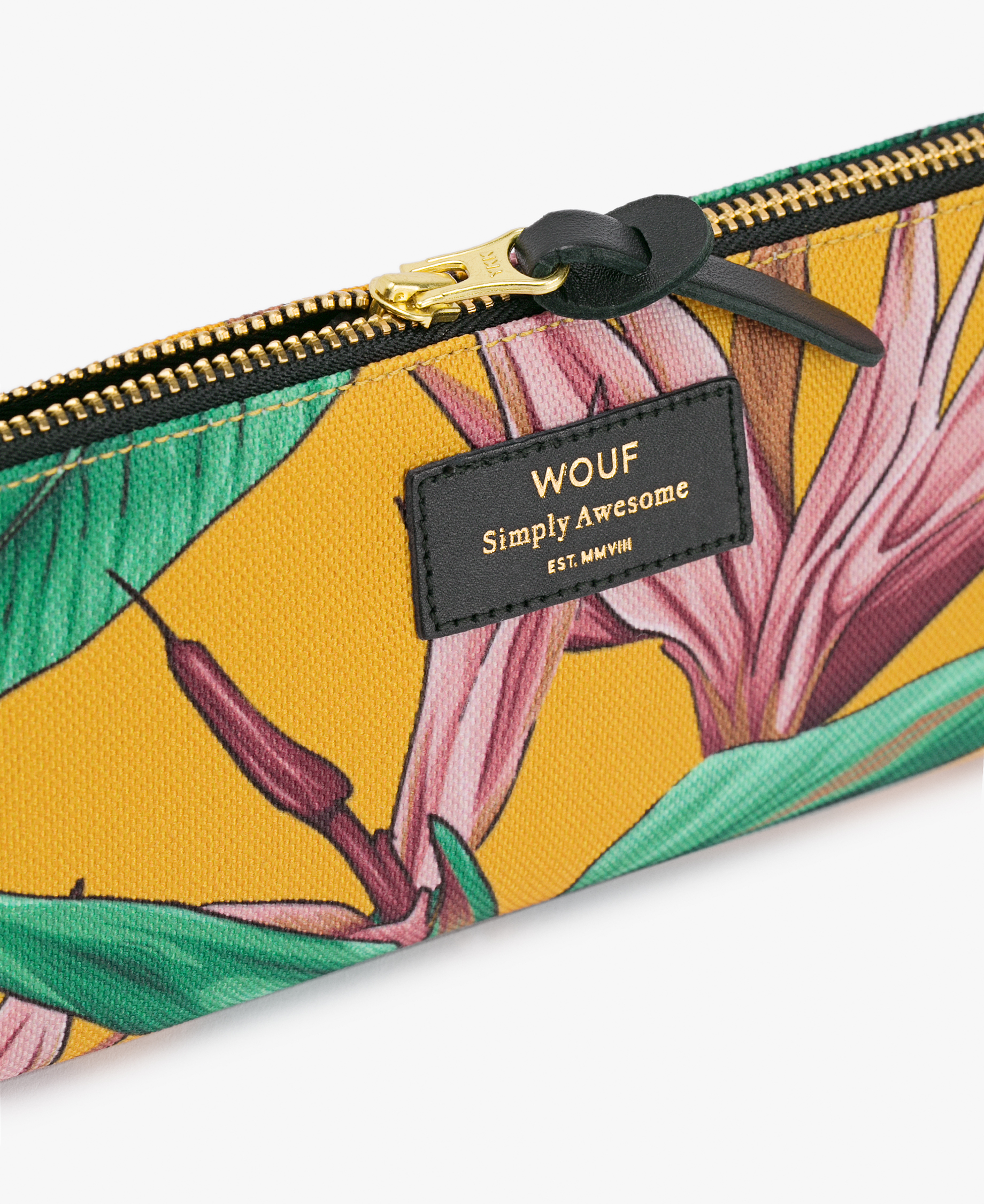 woman pencil pouch bag