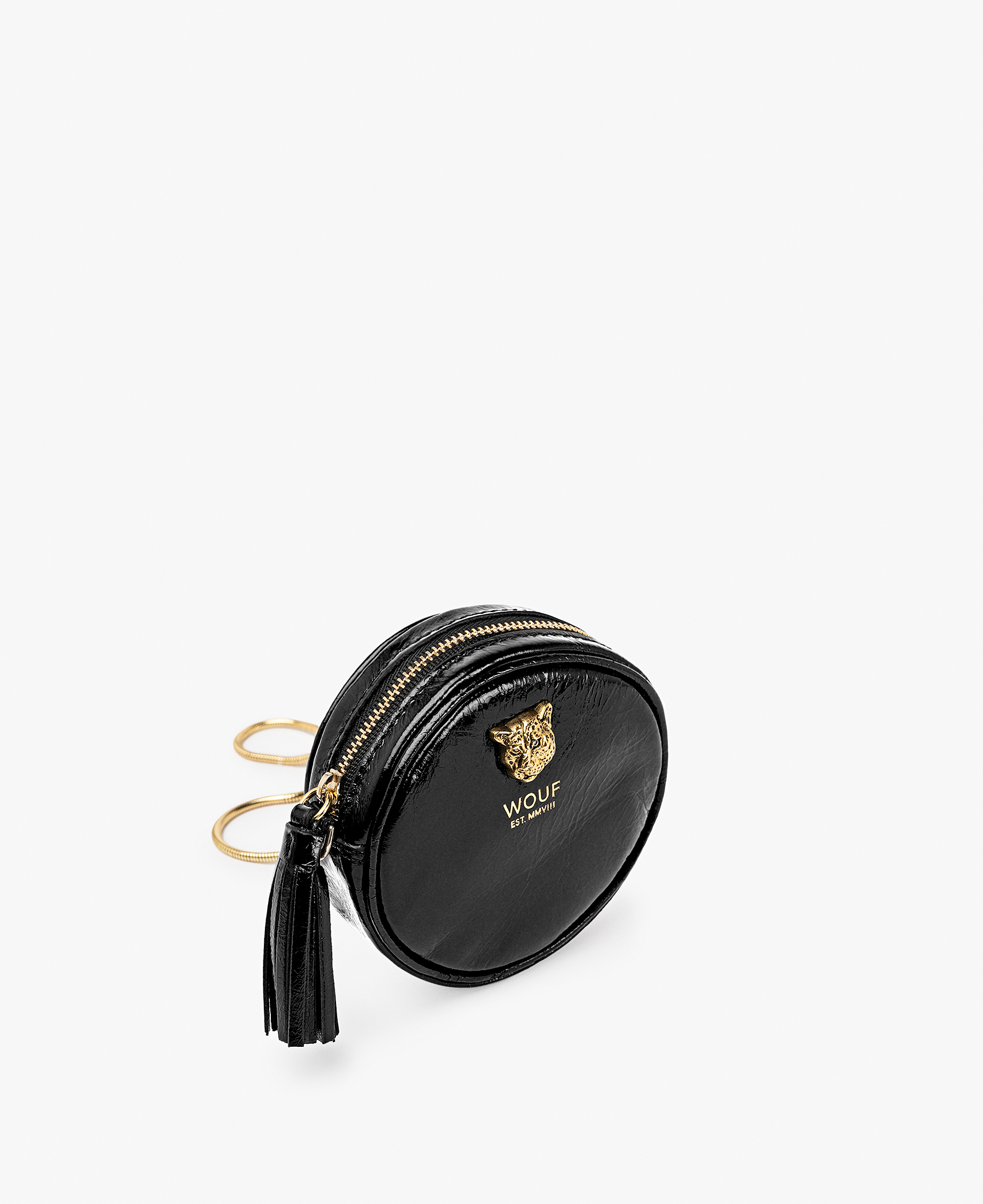 Black-leather-circle-mini-bag-wouf