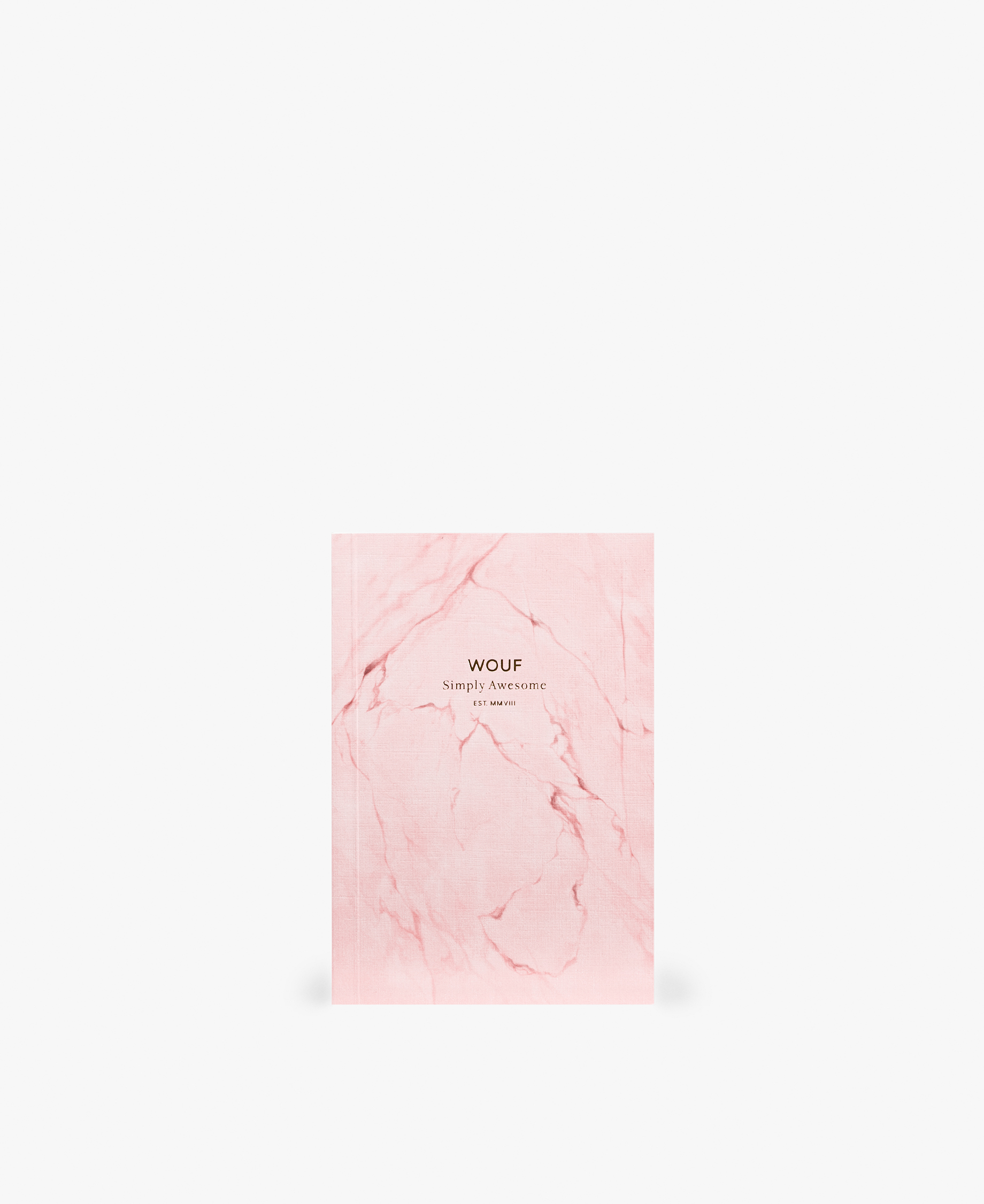 smart pink journal notebook