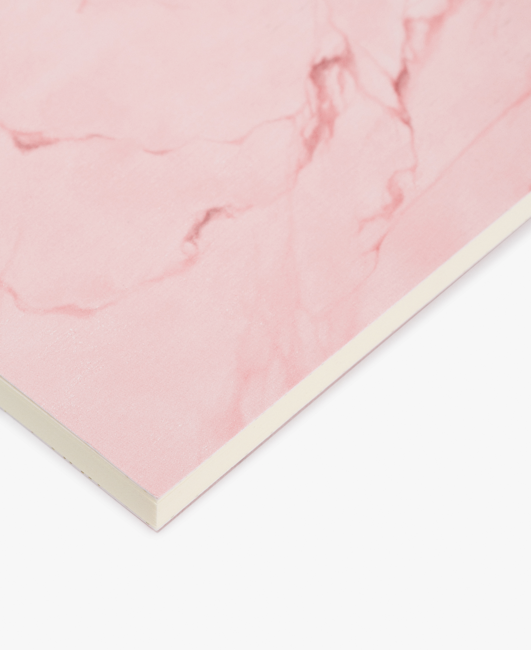 Pink Marble A6 Notebook Wouf