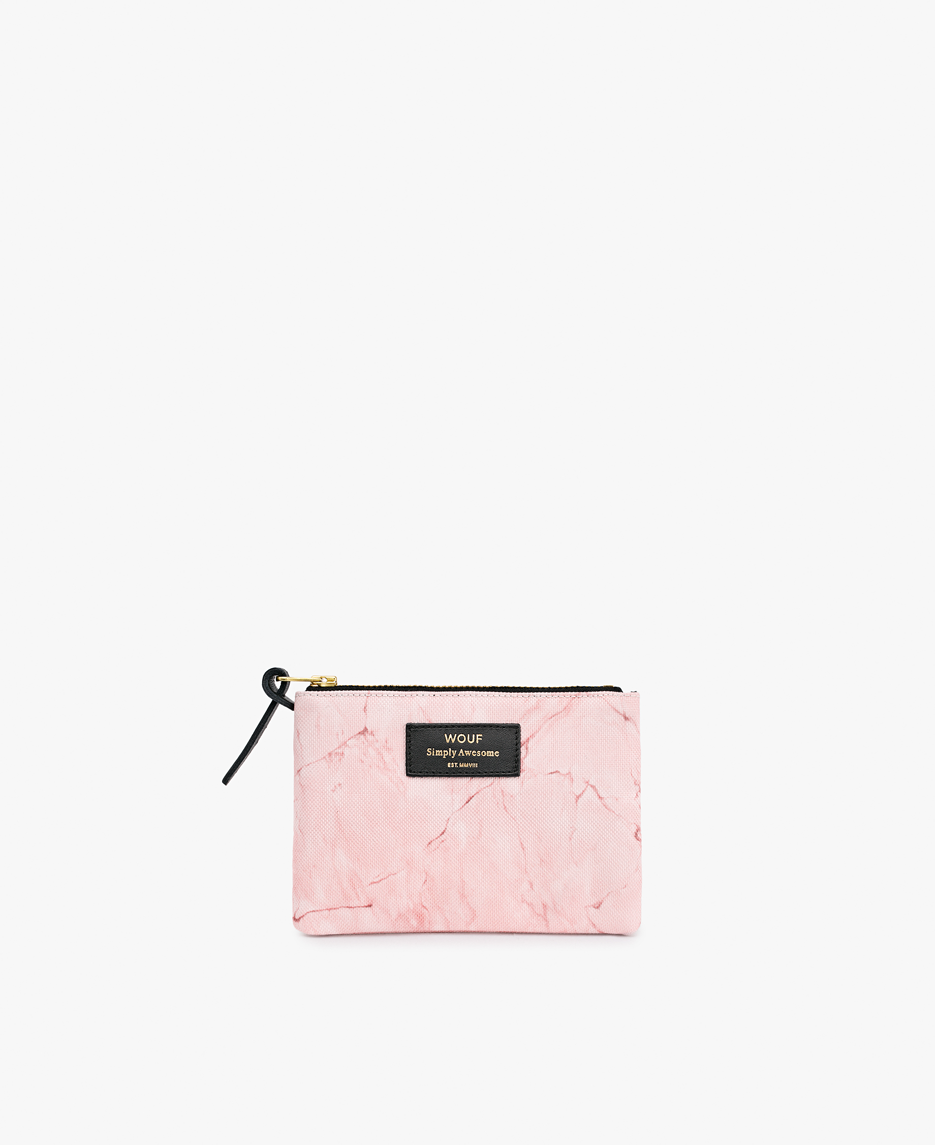 pink woman pouch