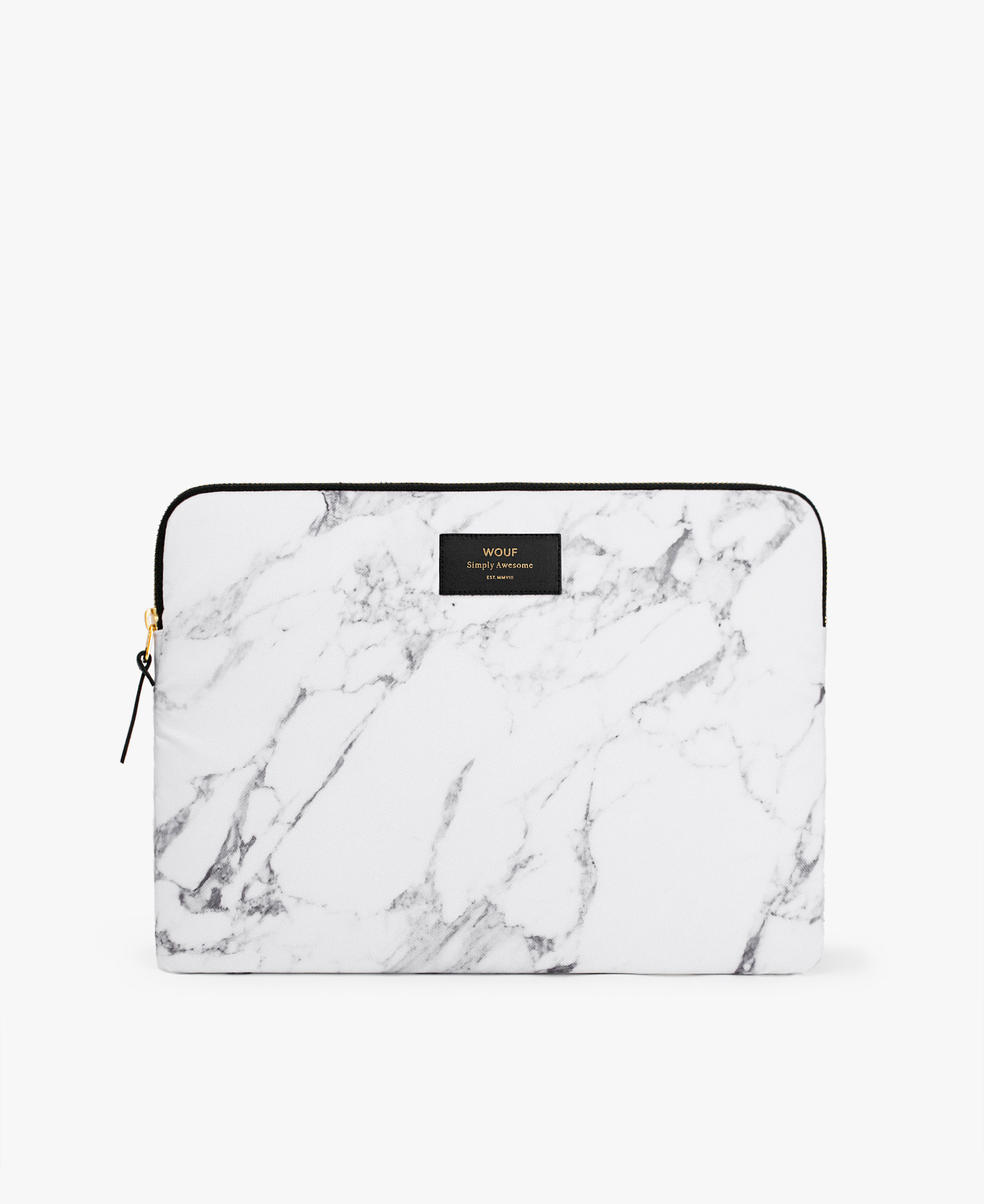 smart white laptop case