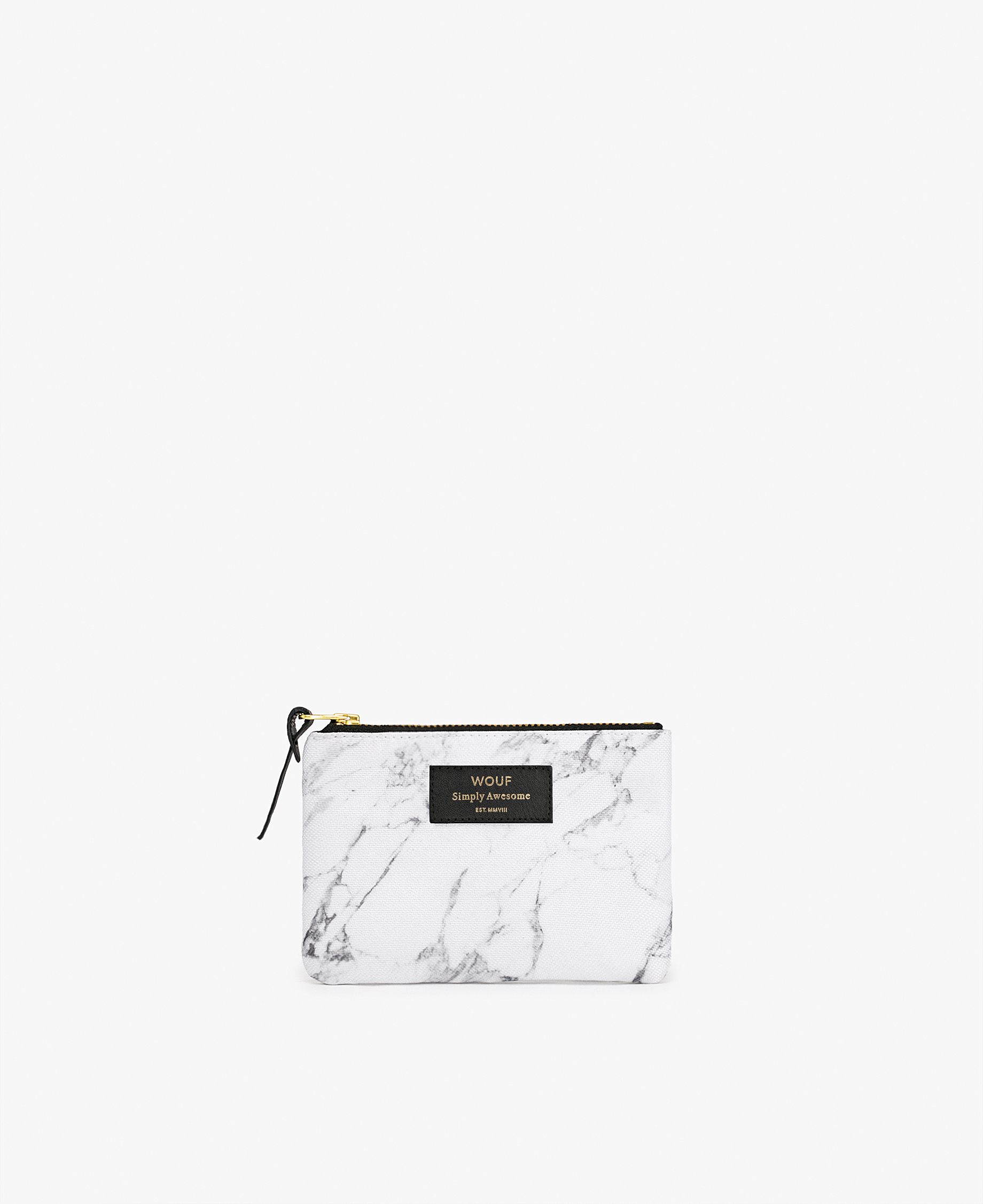 white large pouch in white for woman