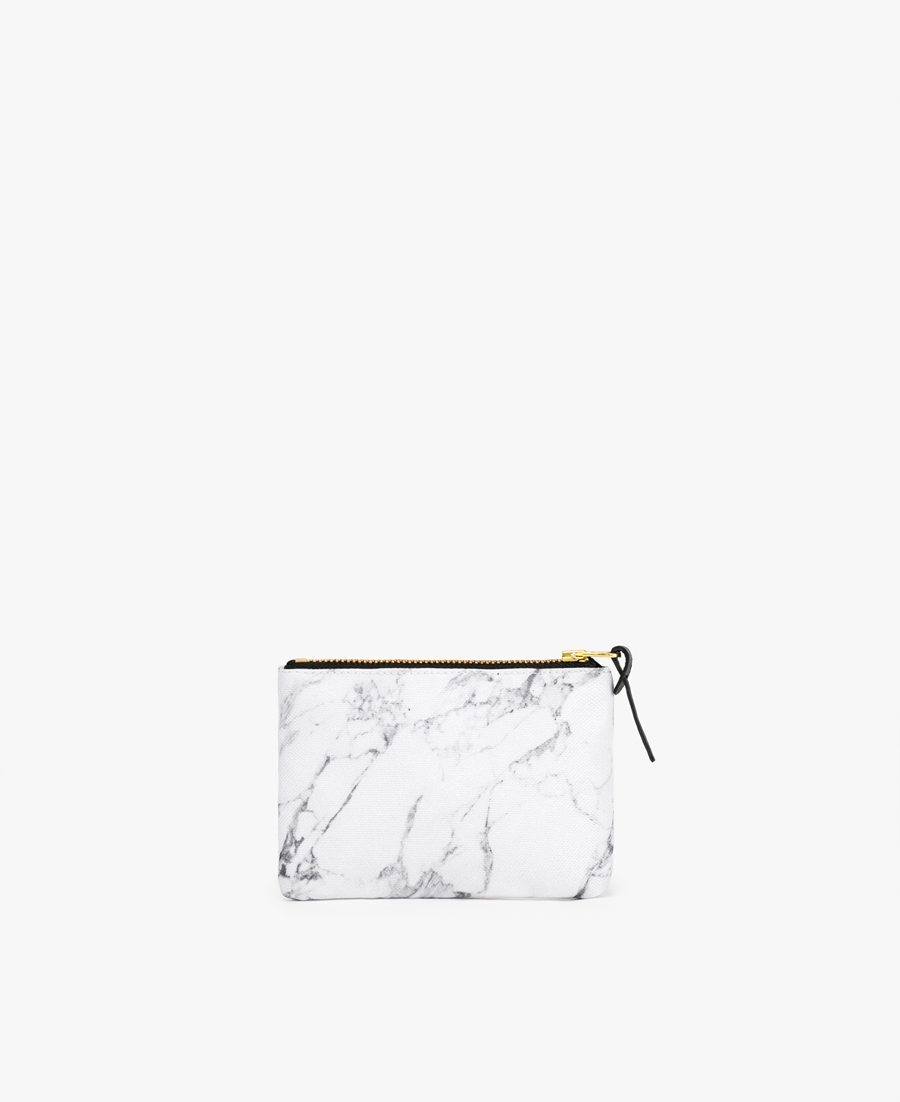 white large pouch in white
