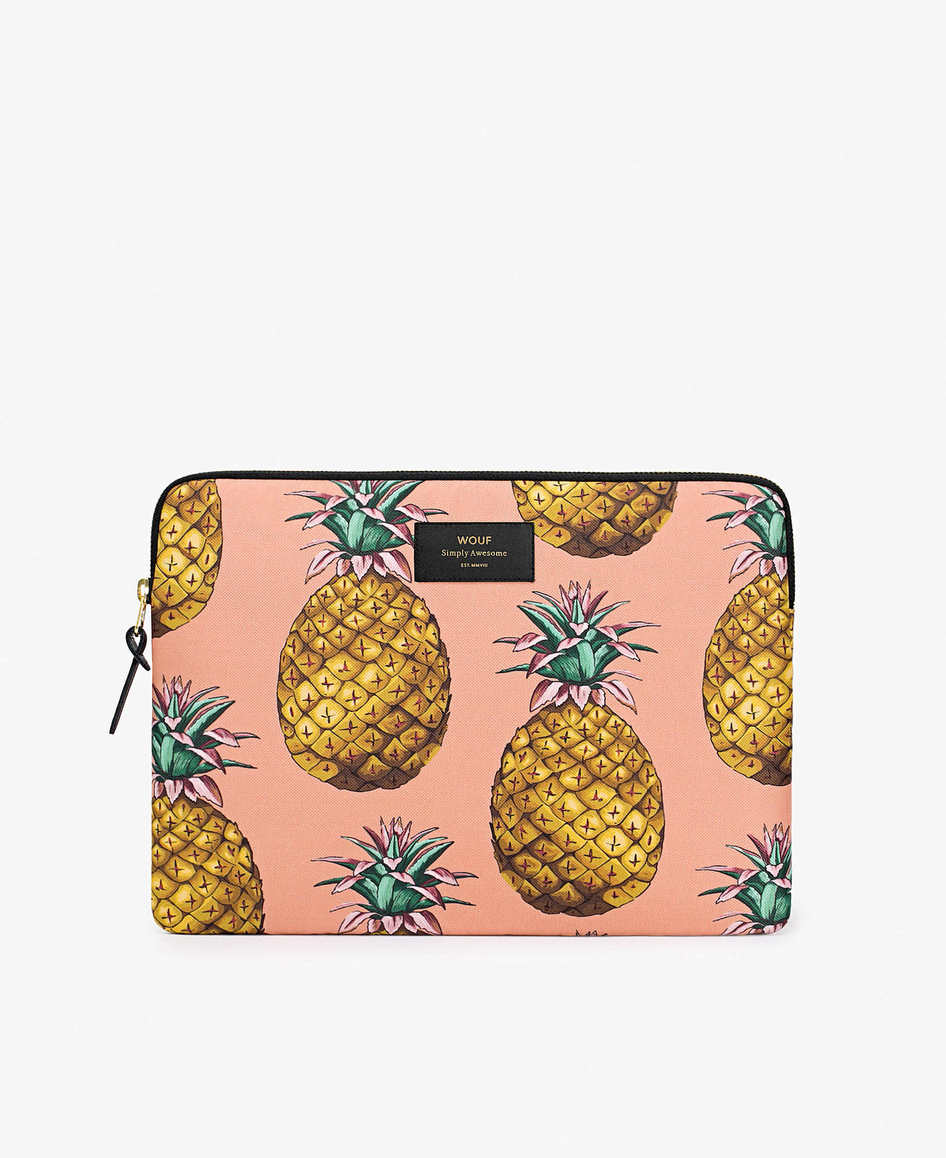 coral laptop cover