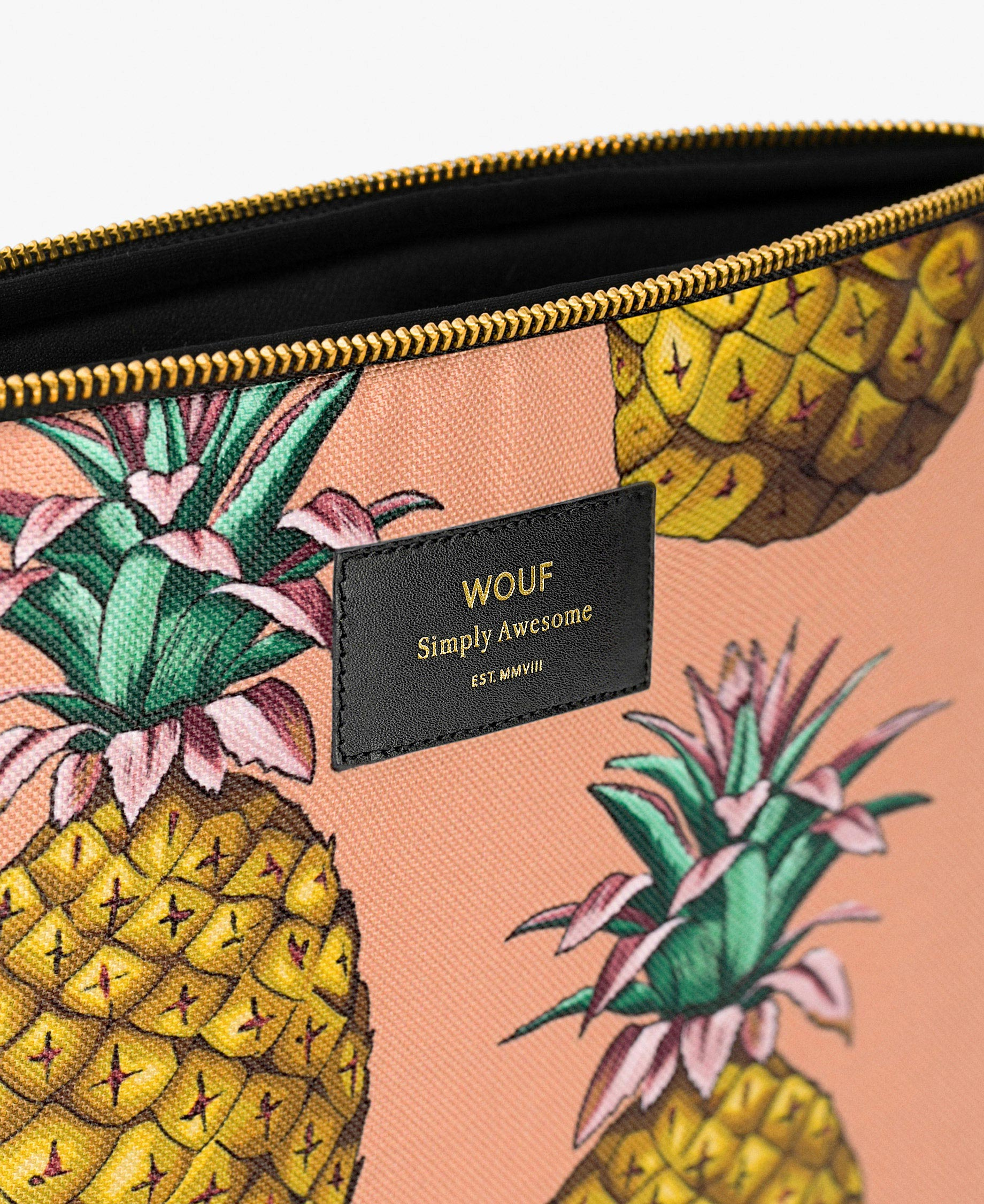pinapple laptop cover
