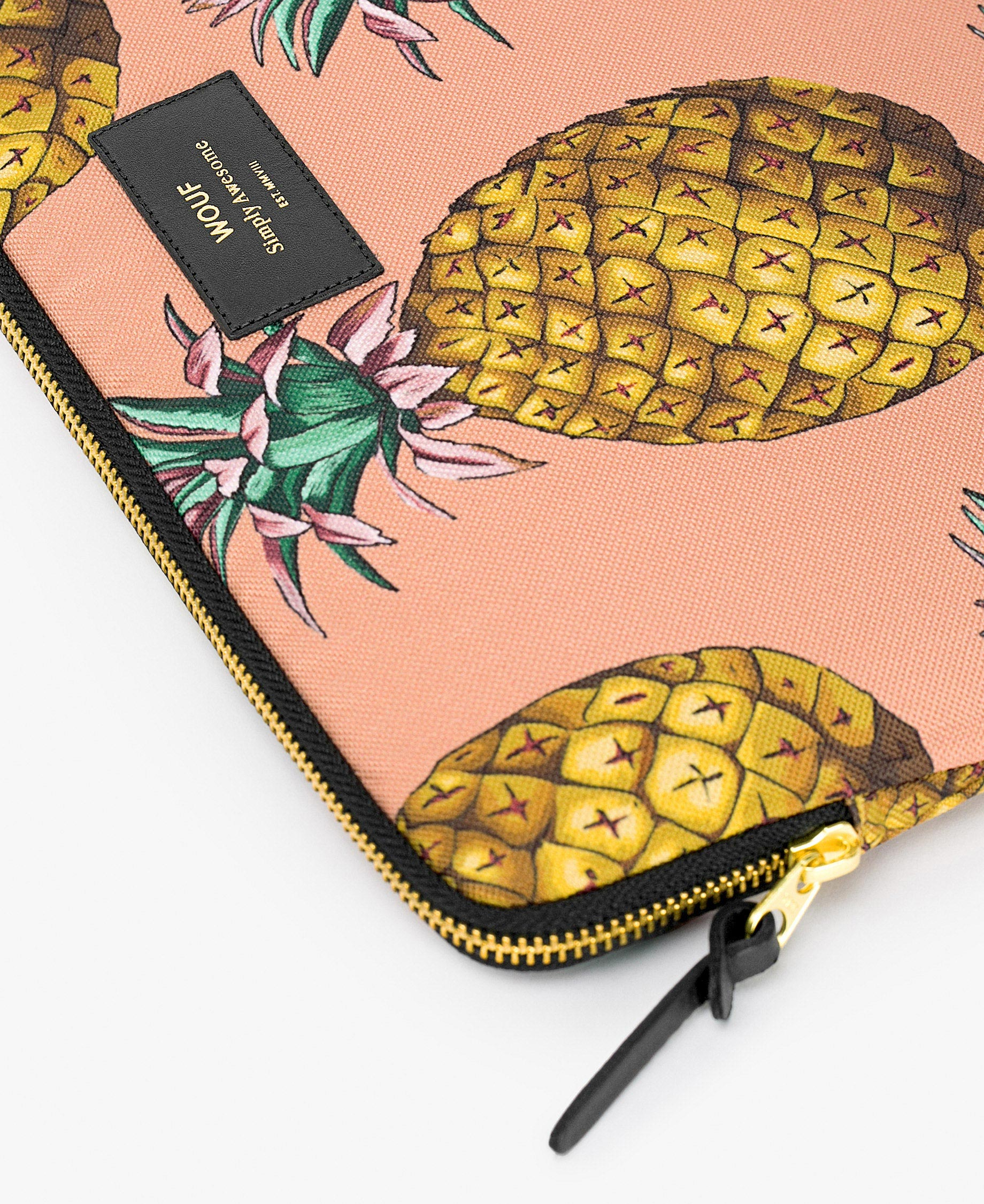 pinapples laptop cover