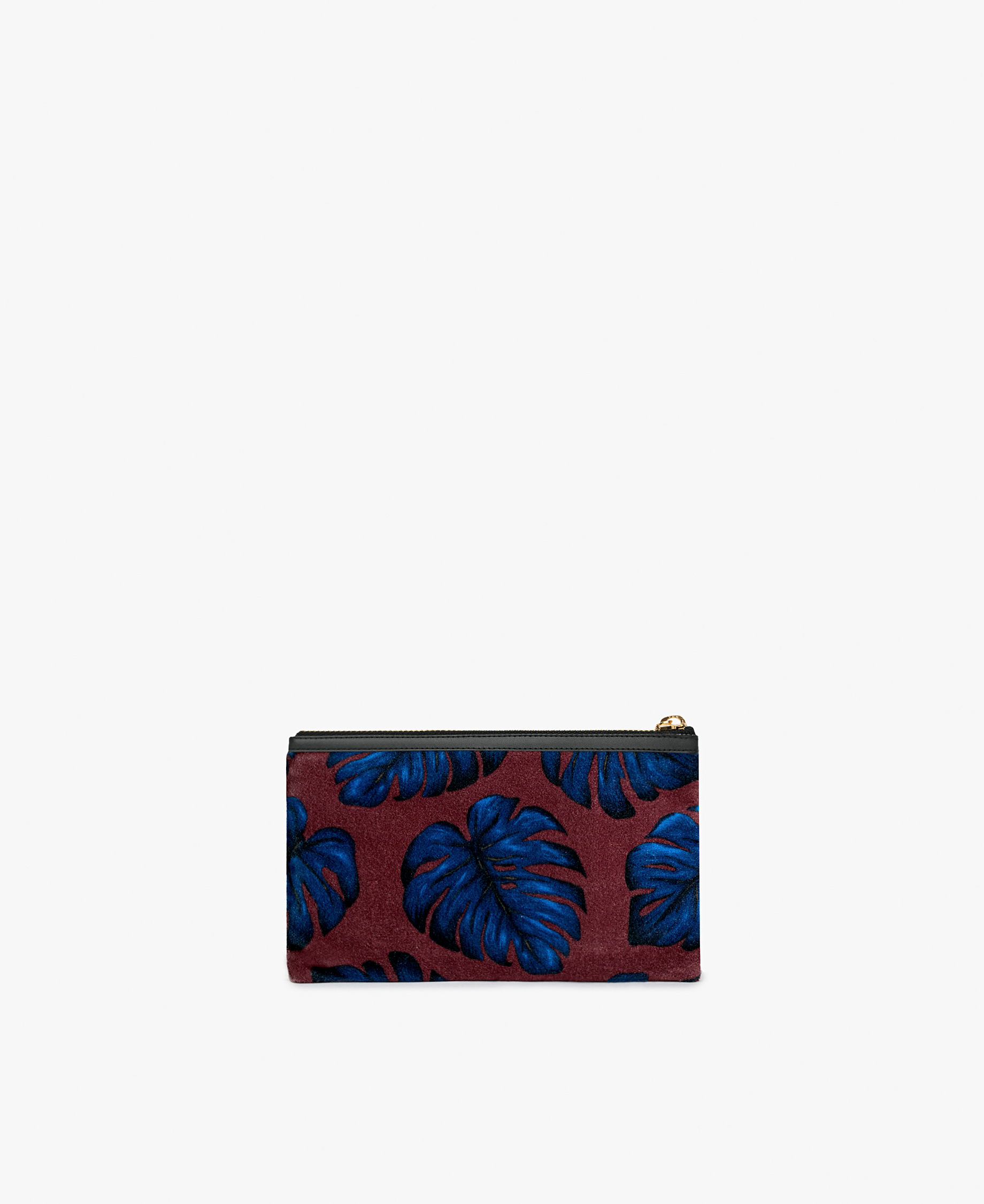 small velvet woman clutch