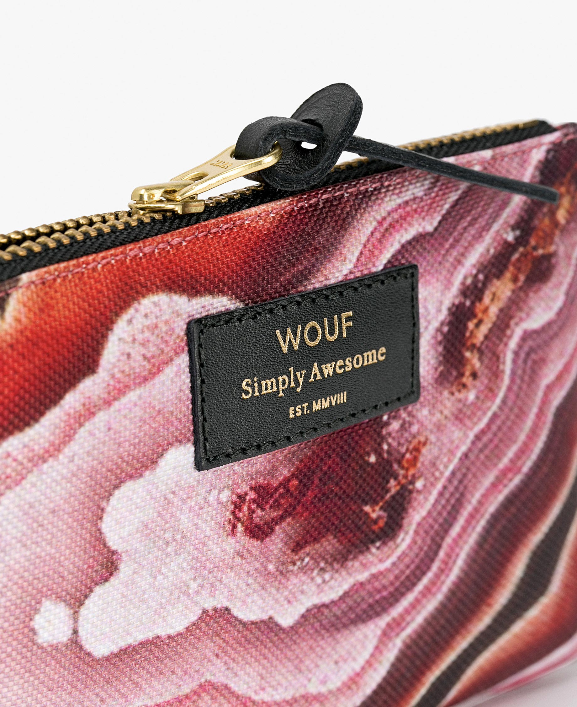 pink pouch bag for woman