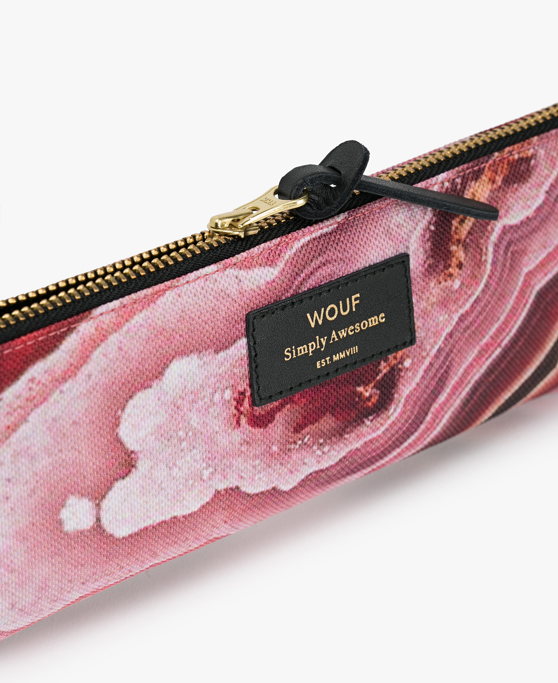 pink pencil case for woman
