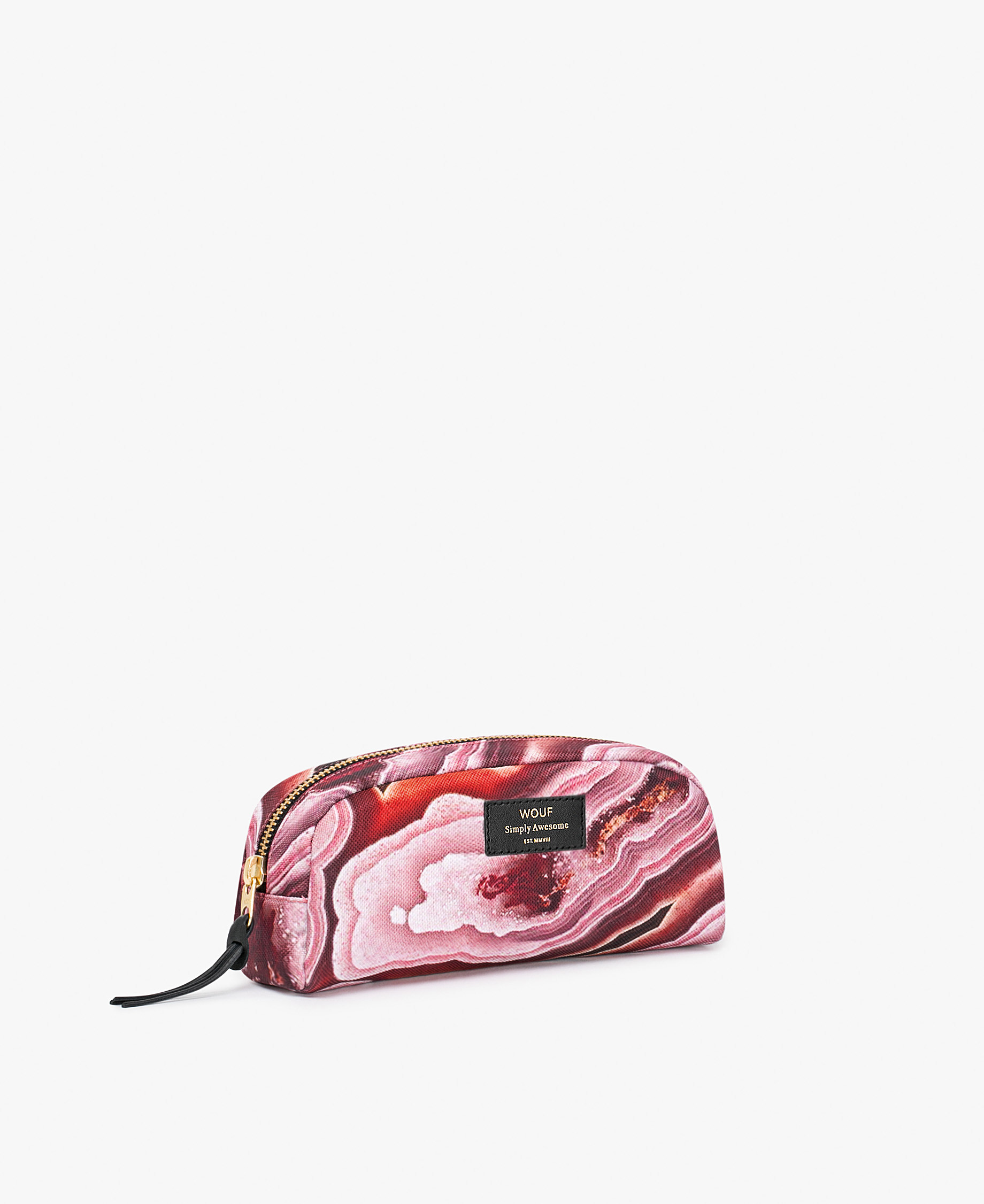 pink toiletry bag for young woman