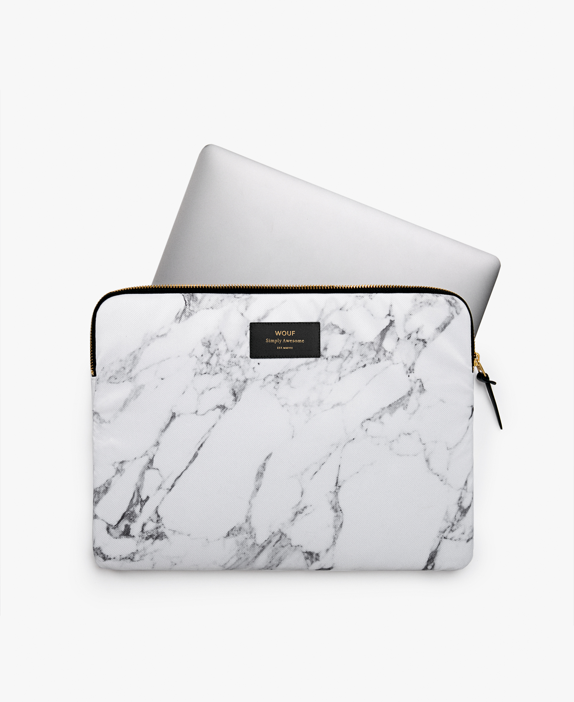 white woman laptop case