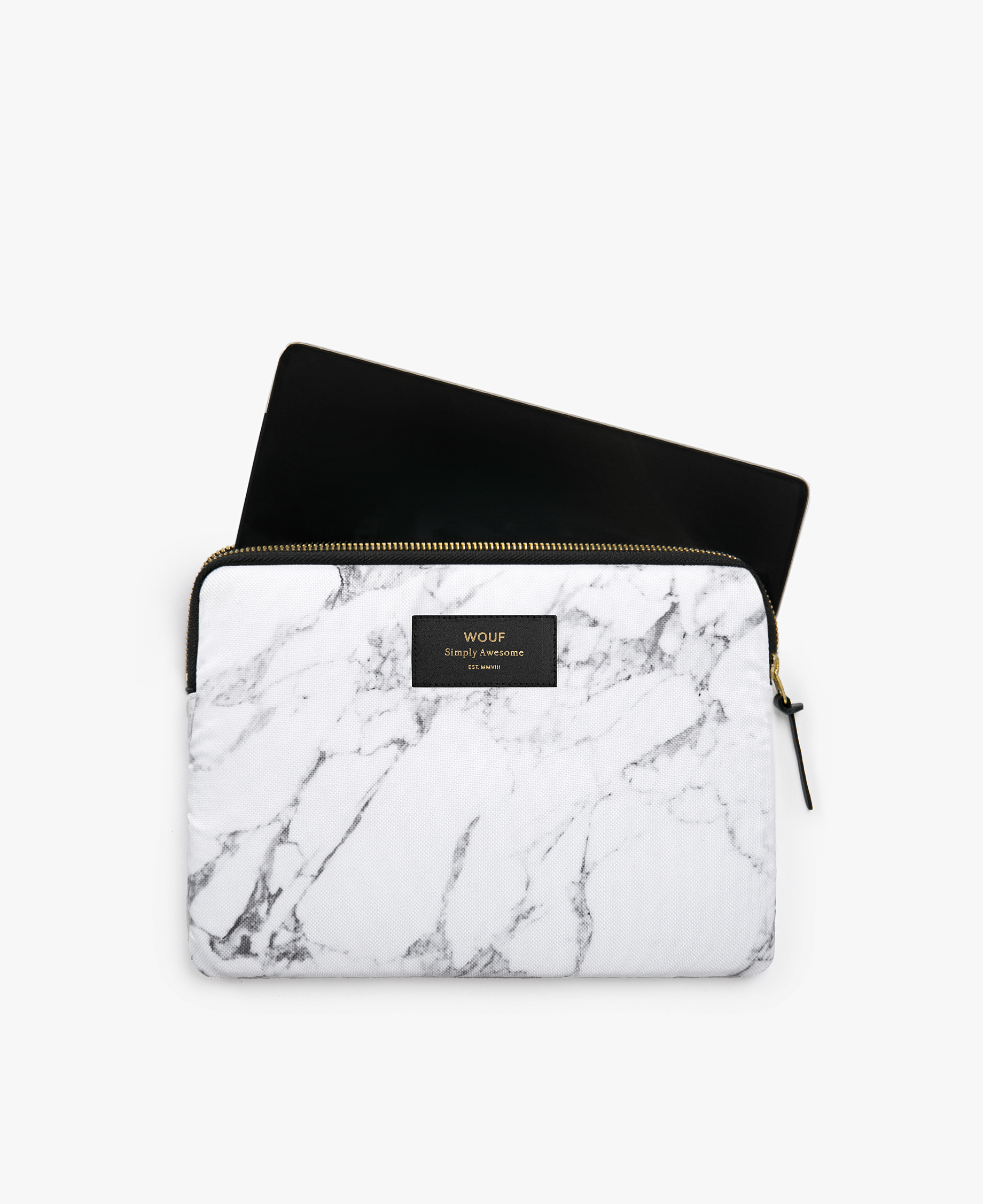 white woman iPad case