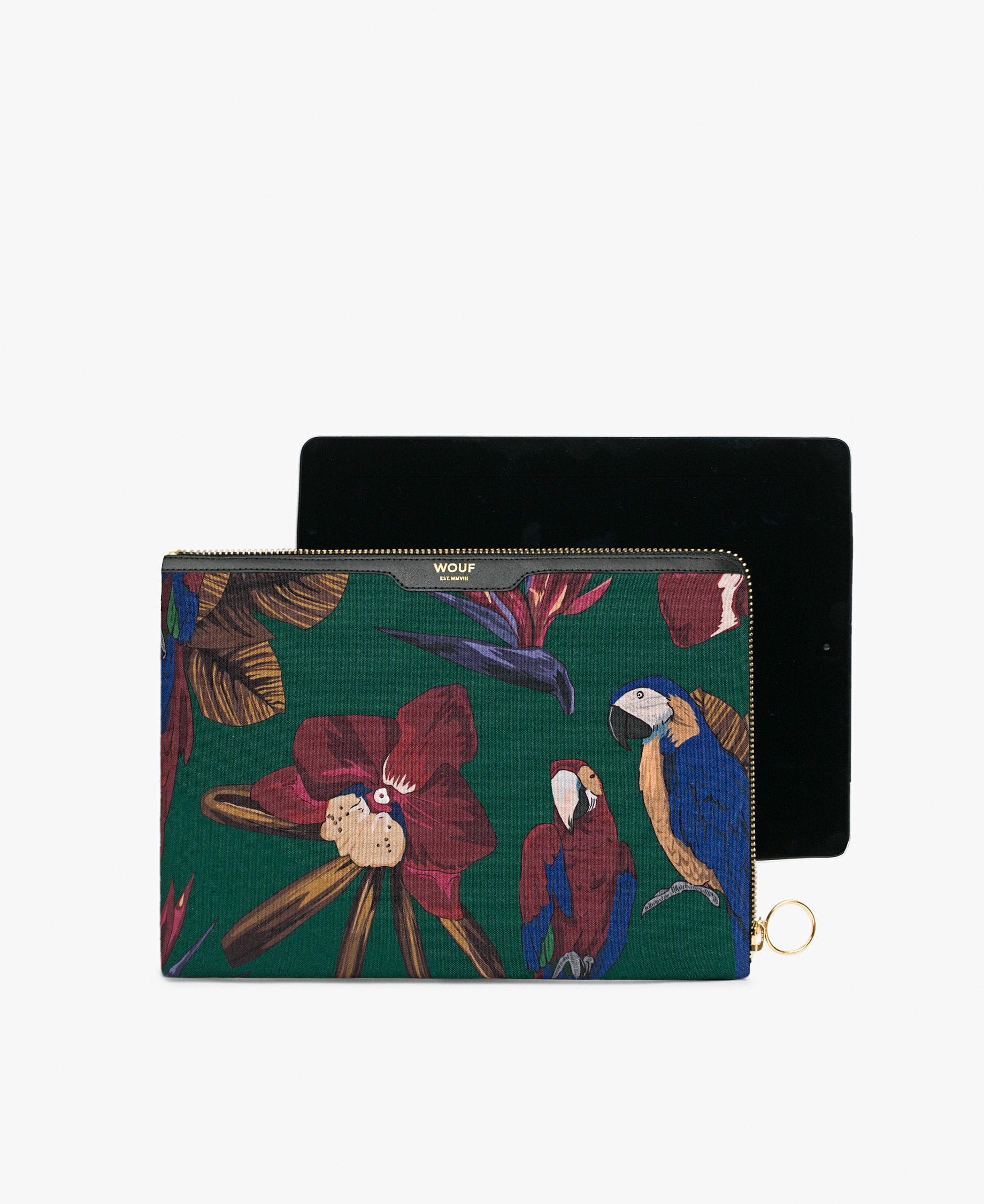 ipad case with orchids