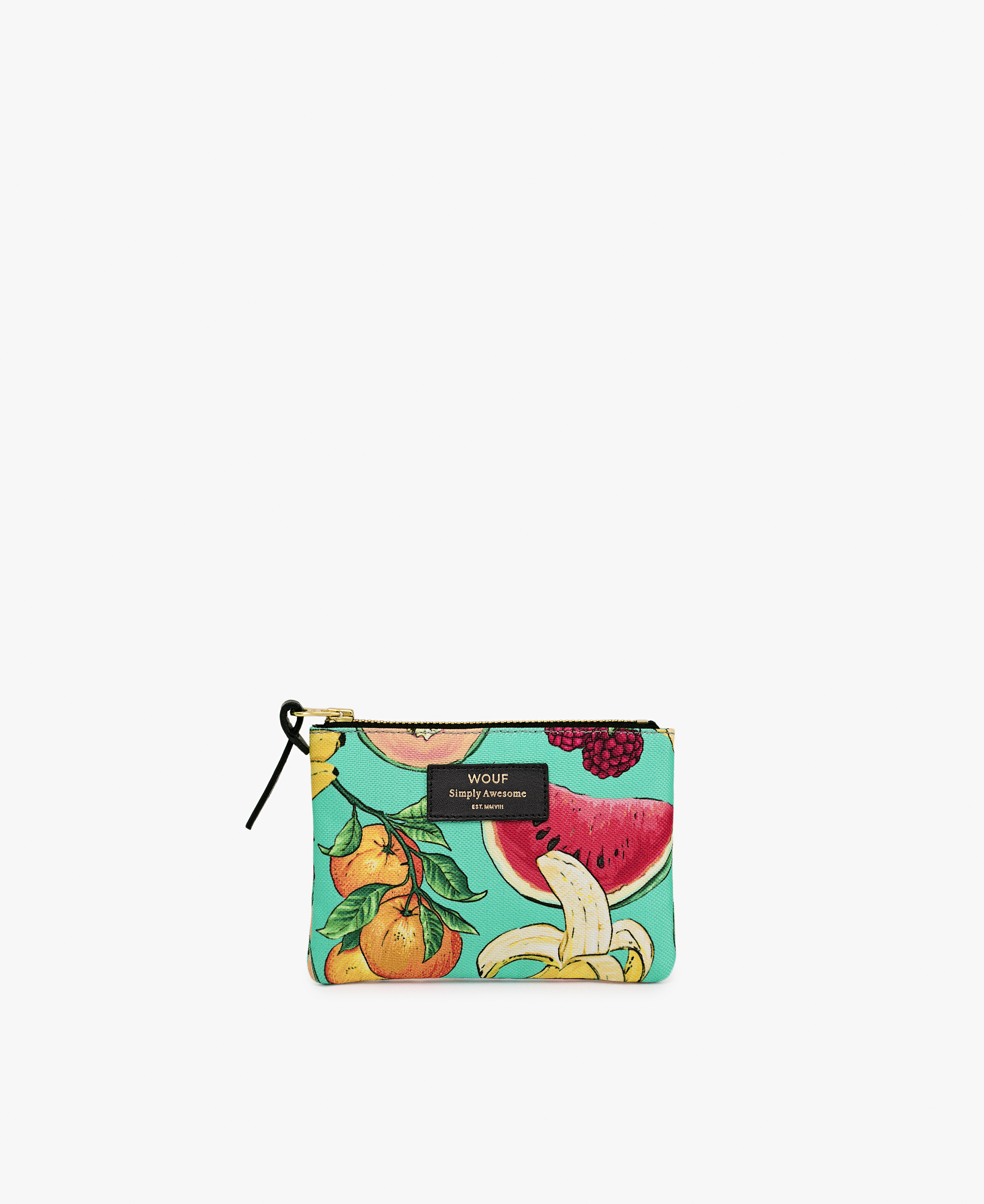 pouch bag with fruits