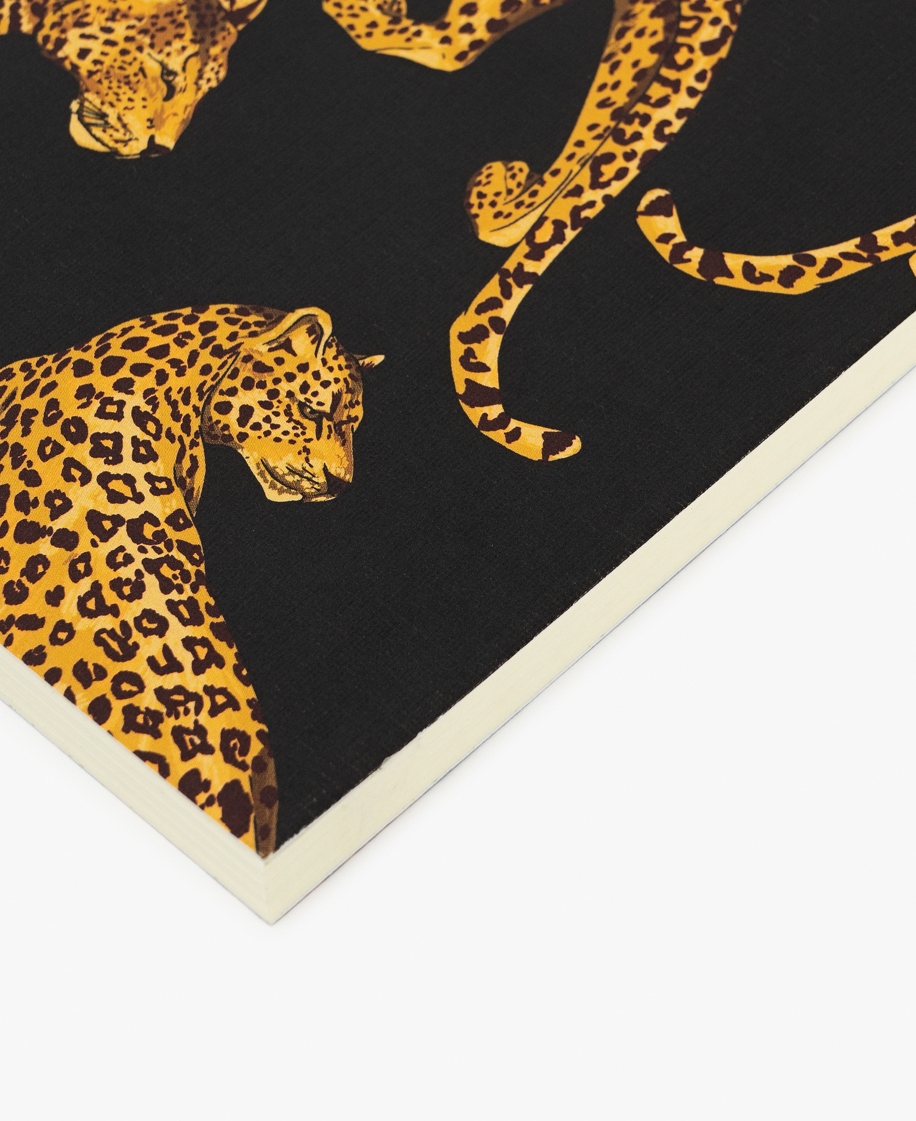 yellow panther journal notebook