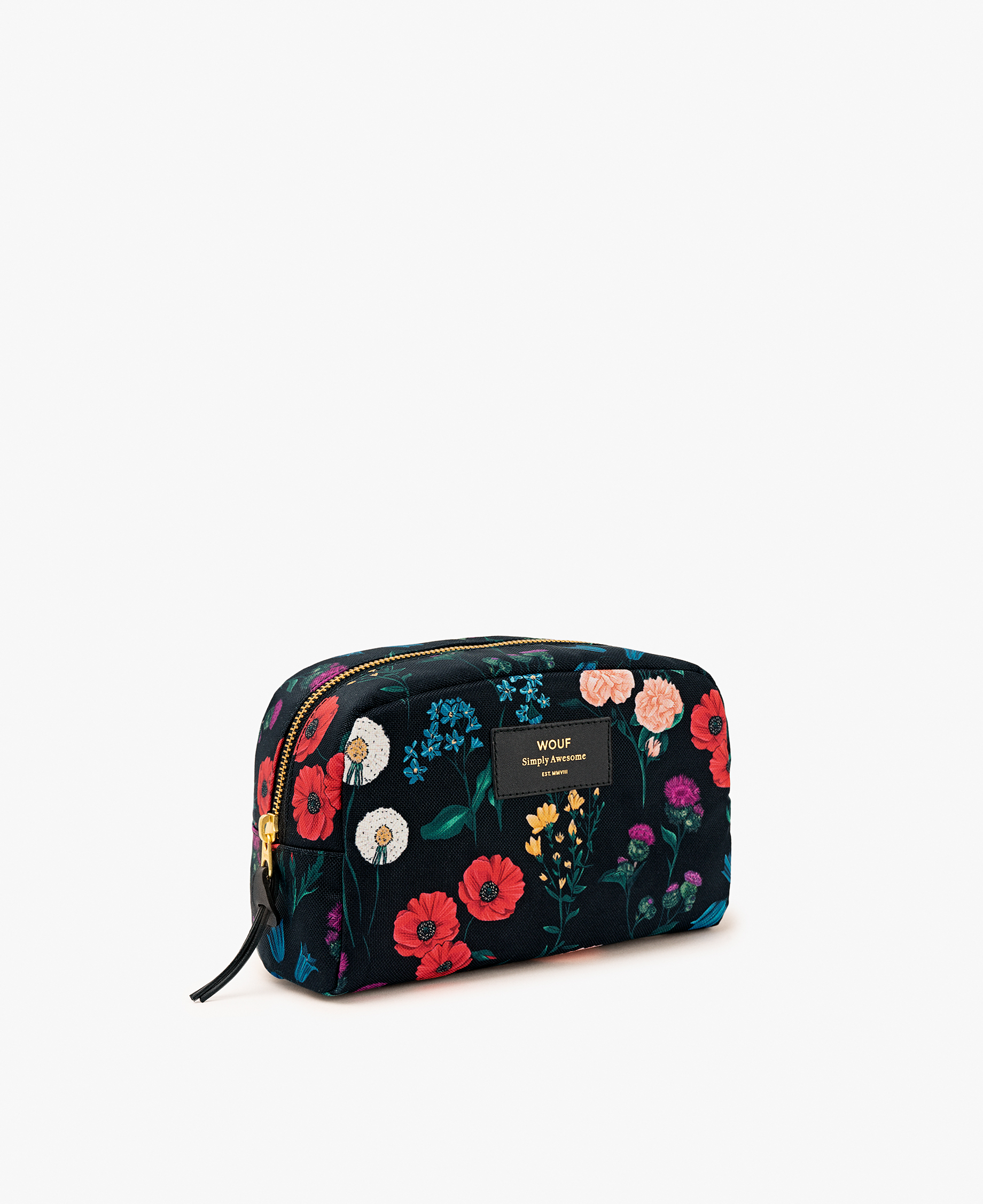 woman toiletry bag