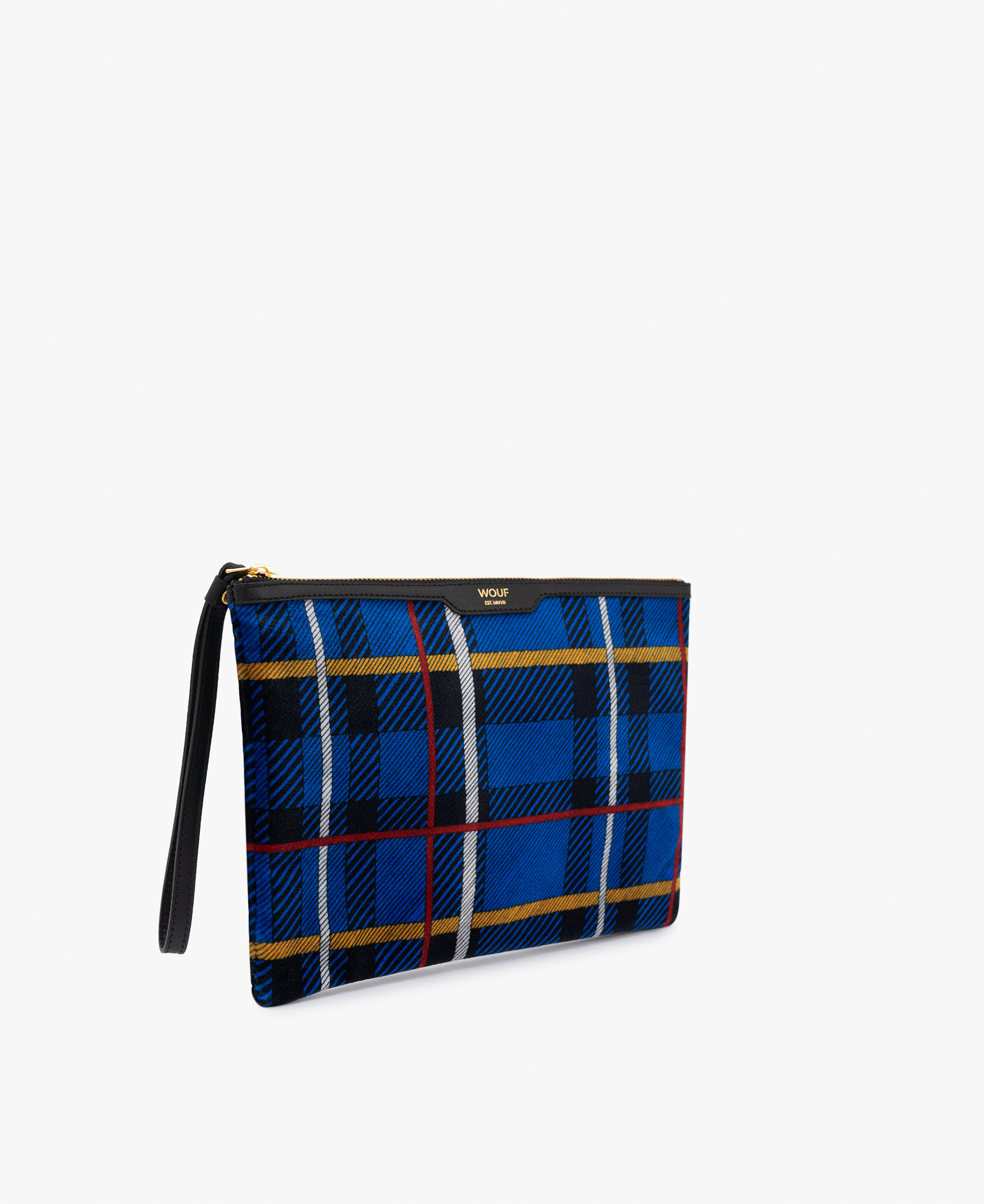 Checkered Evening clutch bag