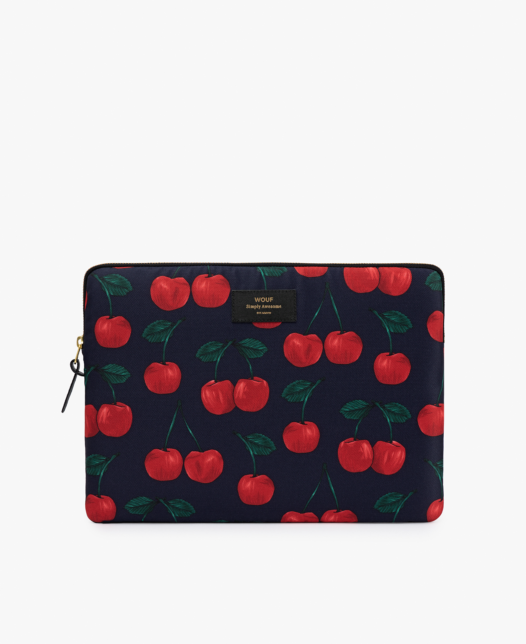 Woman laptop cover
