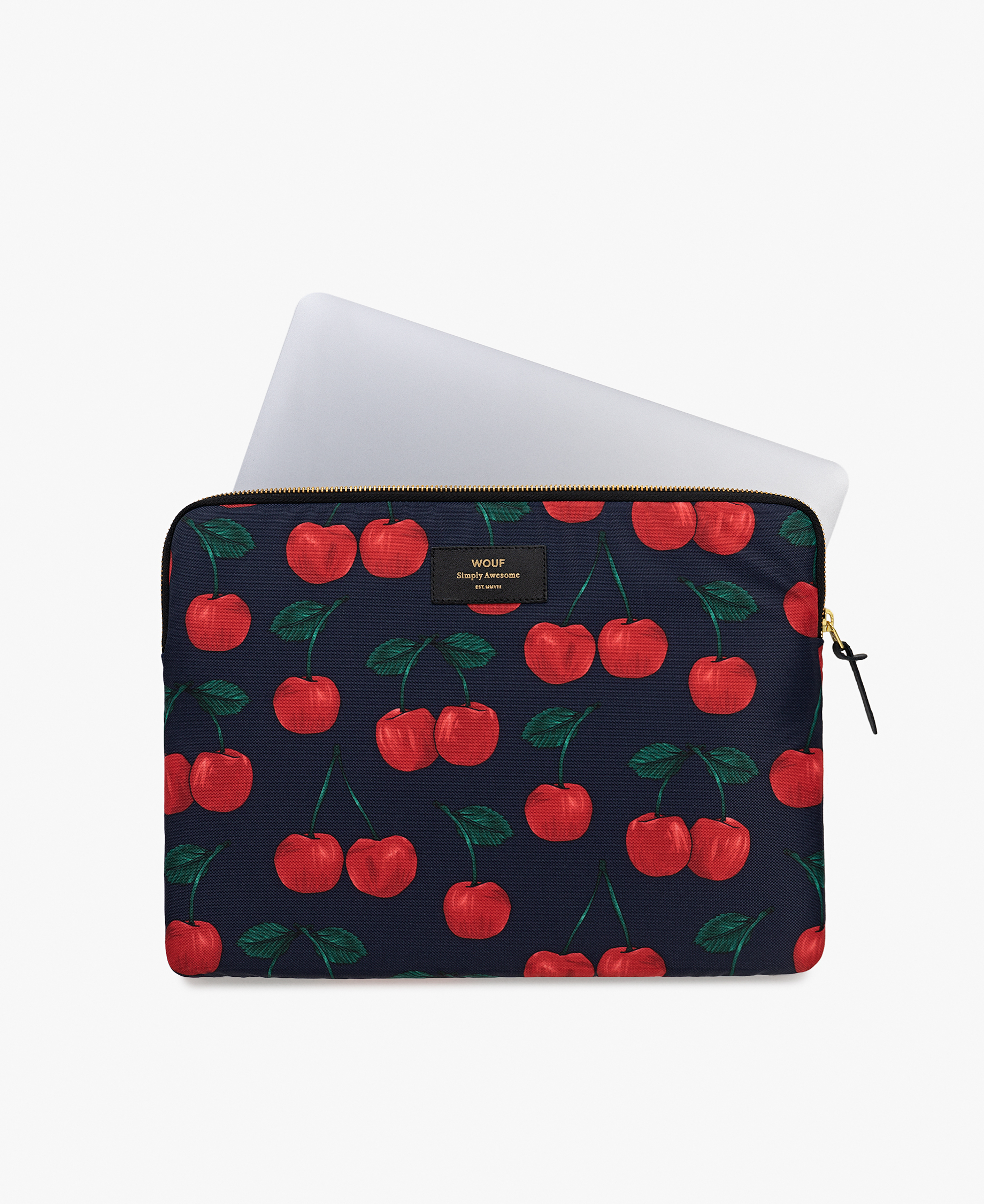 fruits design laptop cover