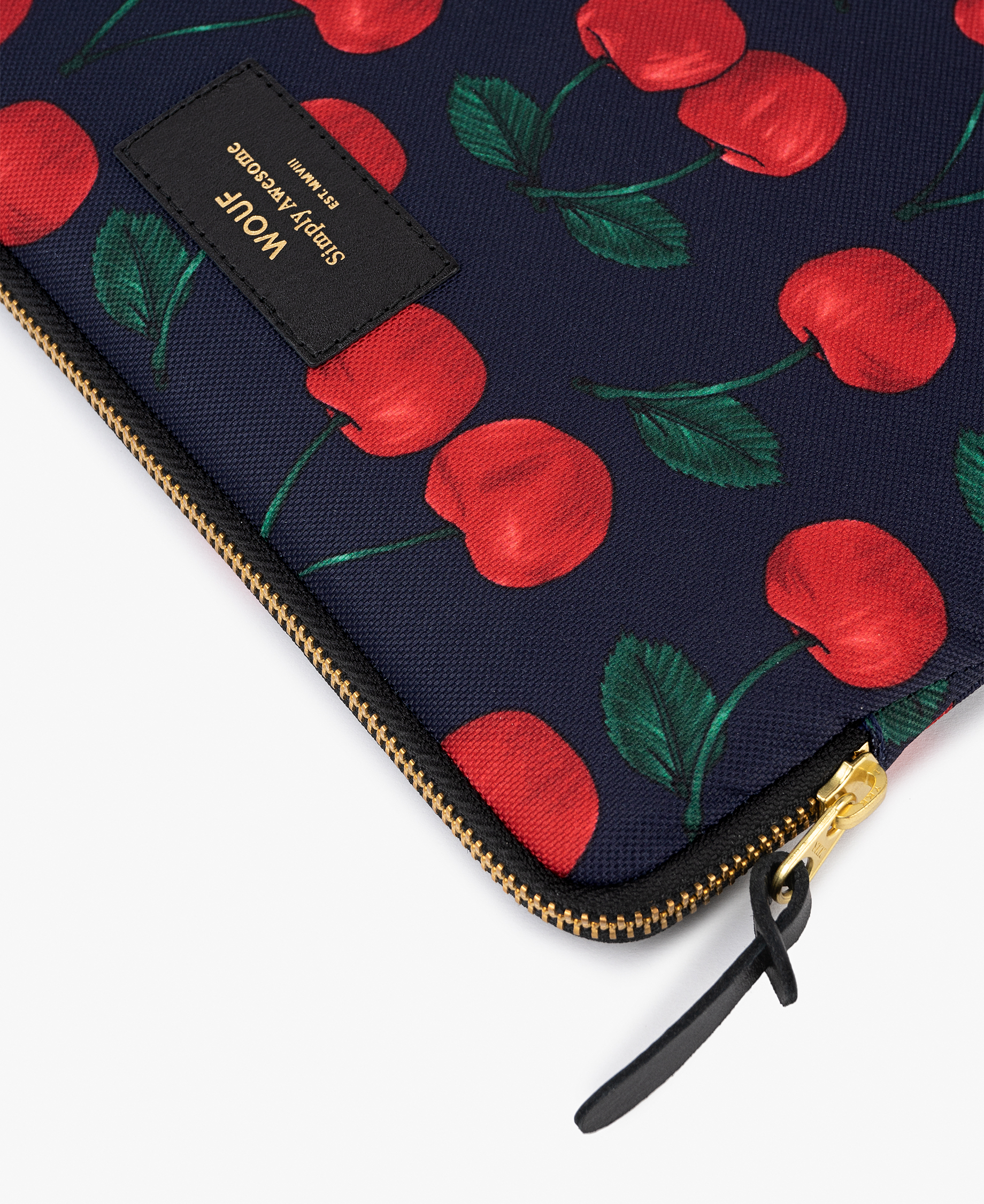 red cherries iPad cover