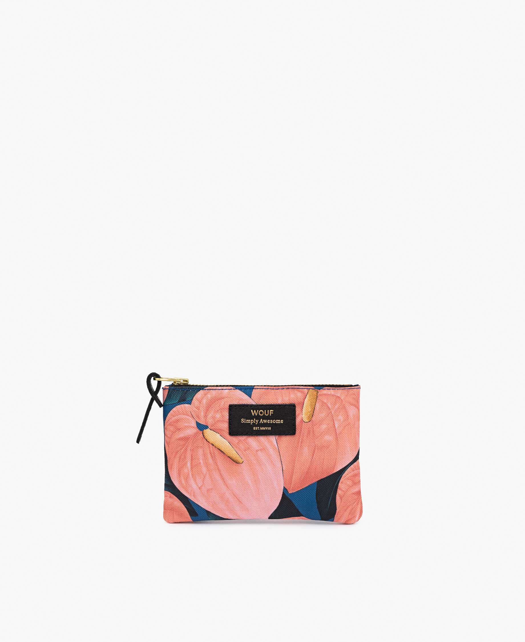 flowers pouch bag