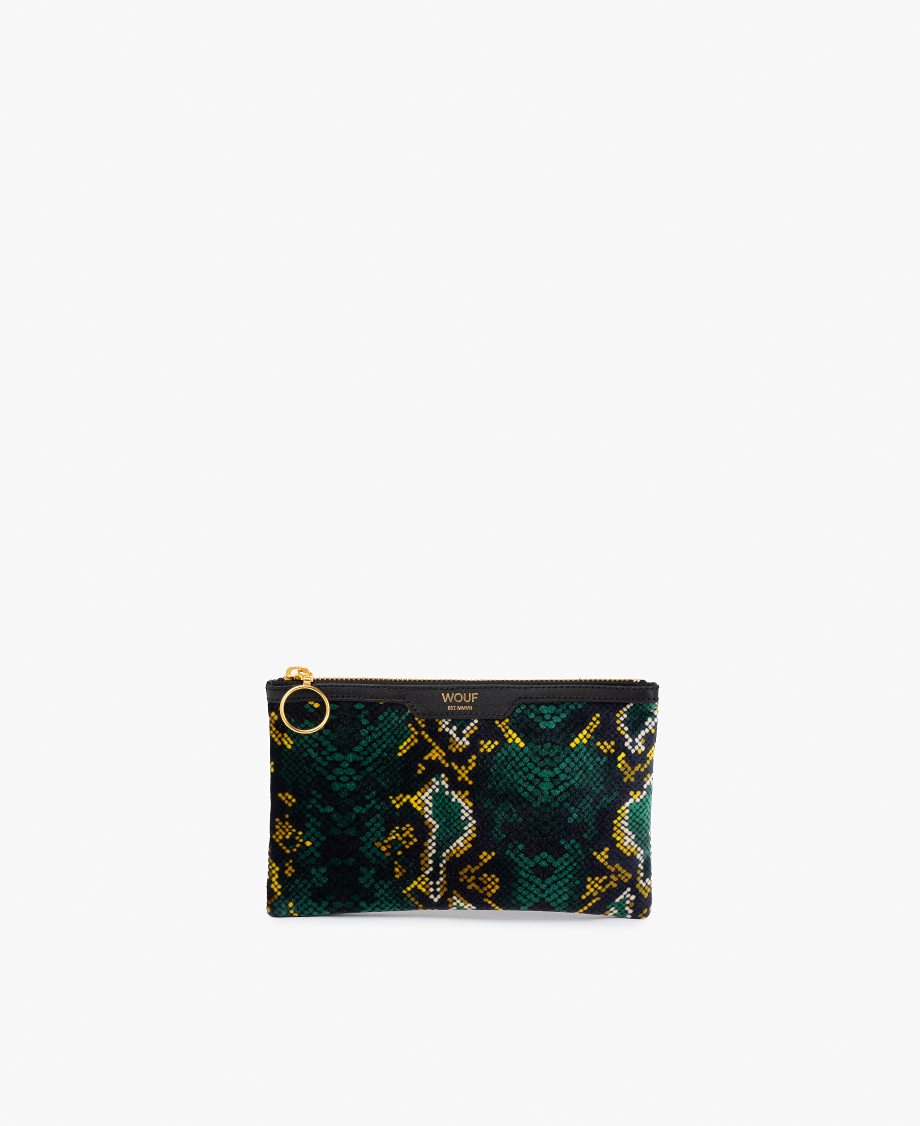Snakeskin lady clutch