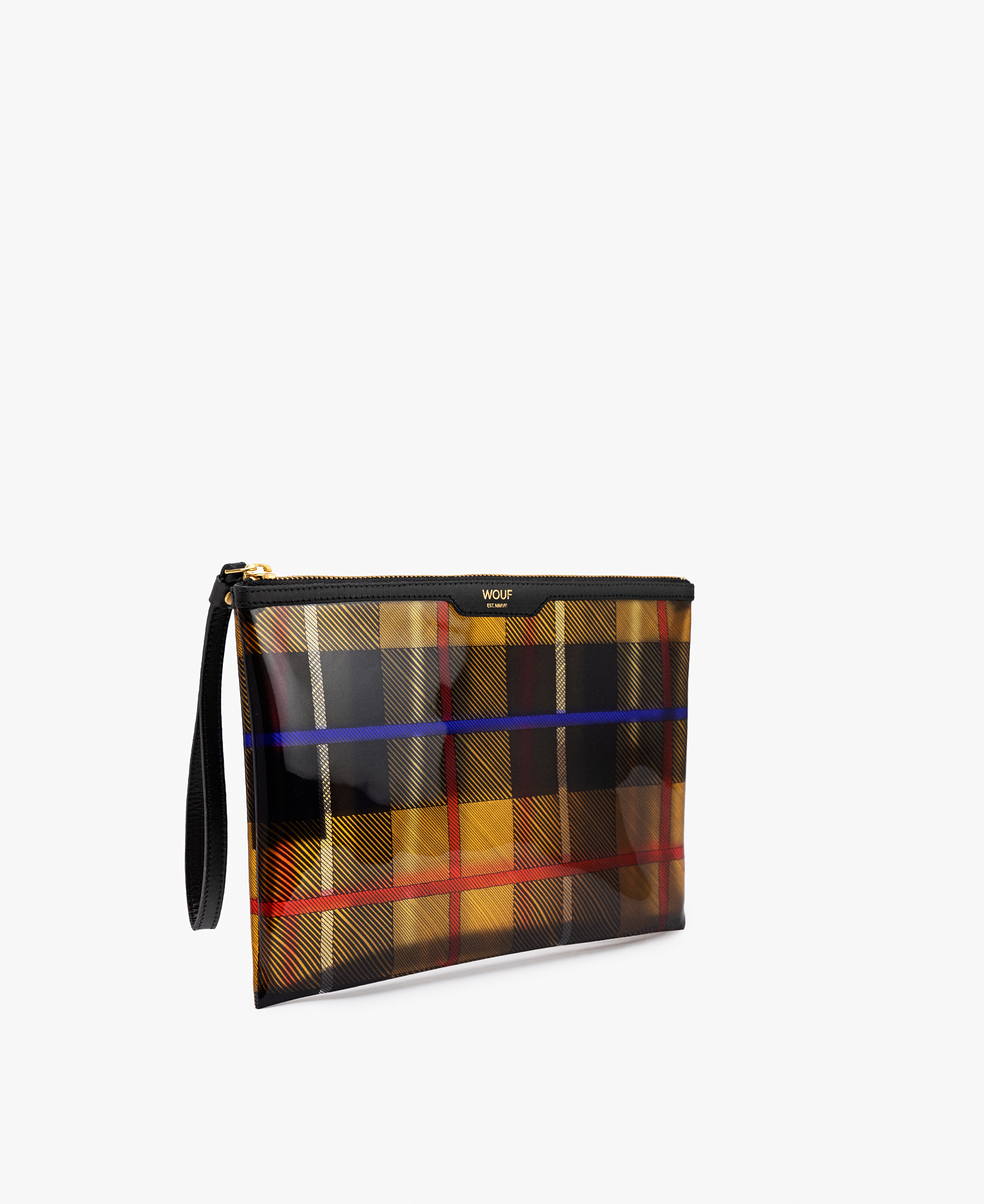 vinyl Evening clutch bag
