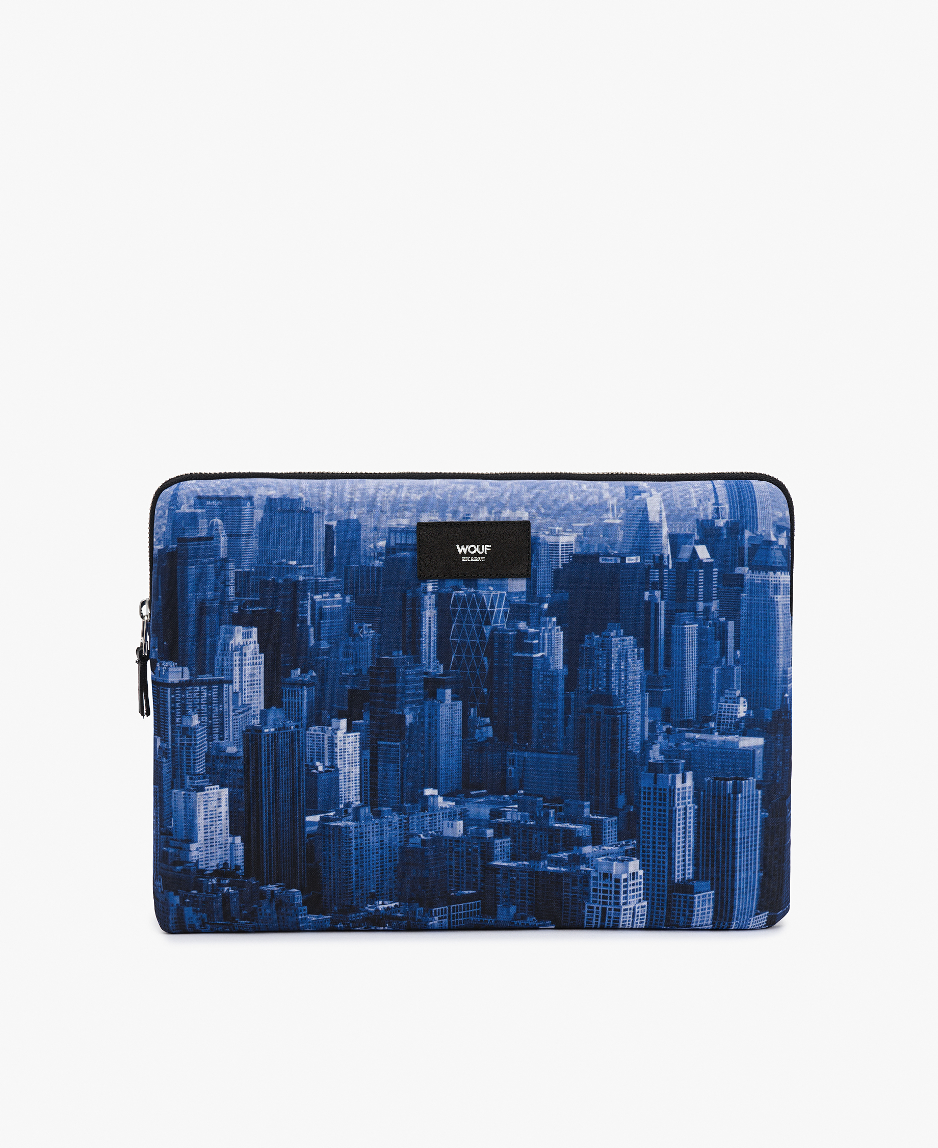 man blue laptop case