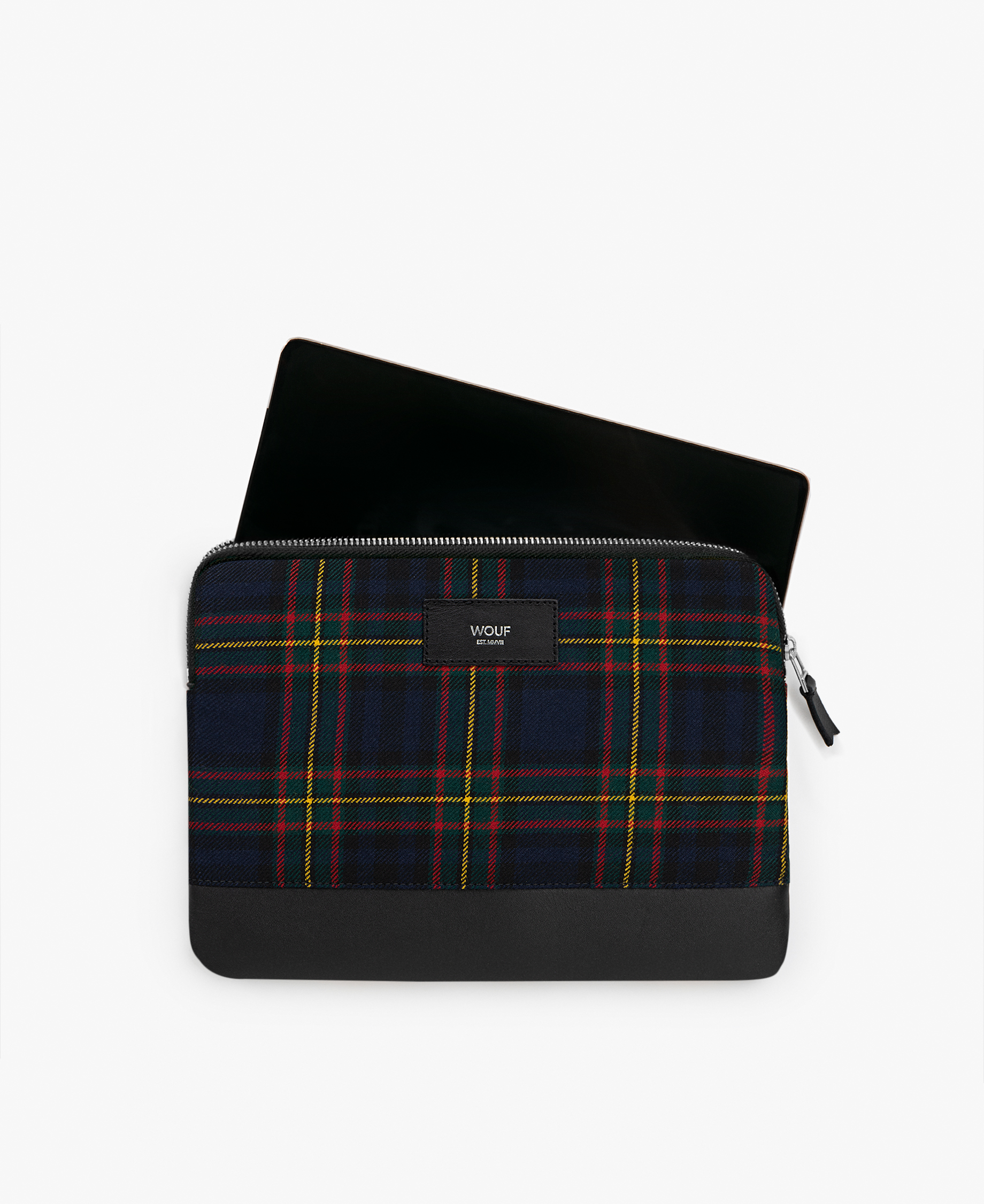 checkered blue ipad case