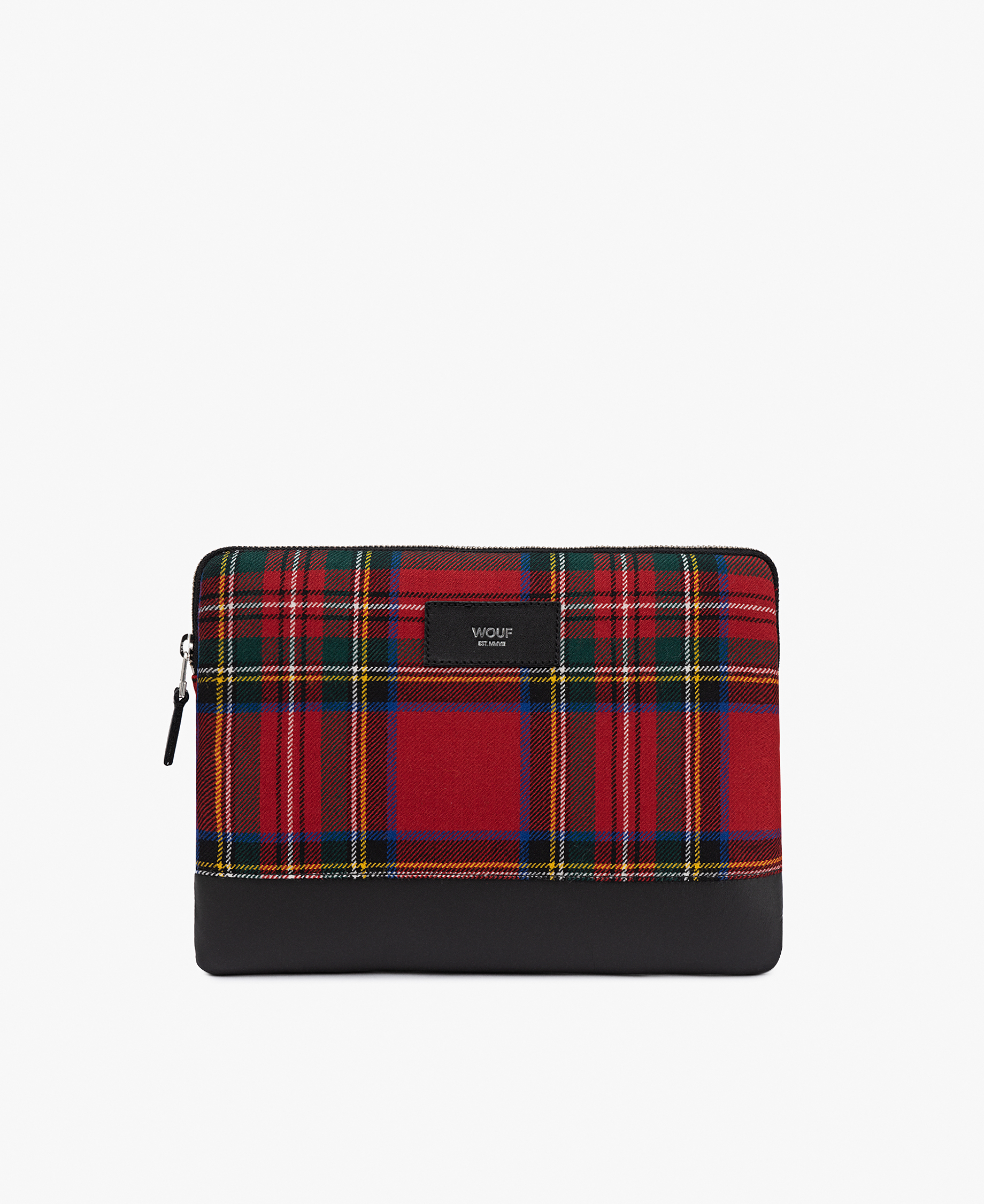 red scottish ipad case