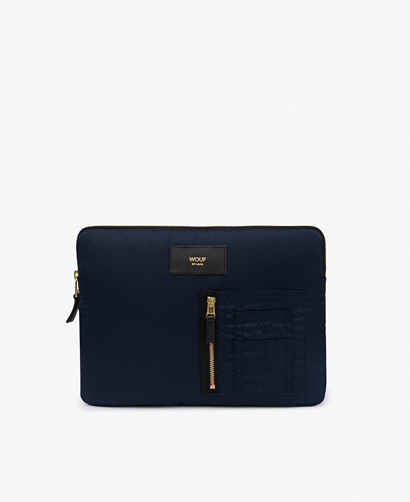 smart blue navy ipad case for man