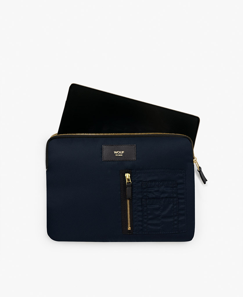 smart blue ipad case for man