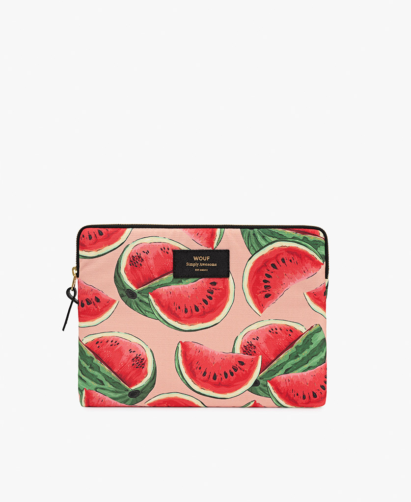 woman's colorful iPad case