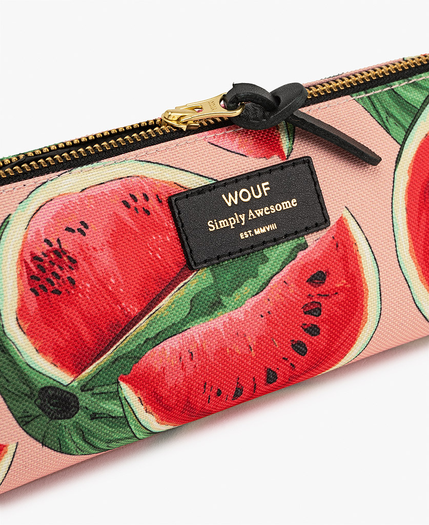 woman's Pencil case in pink