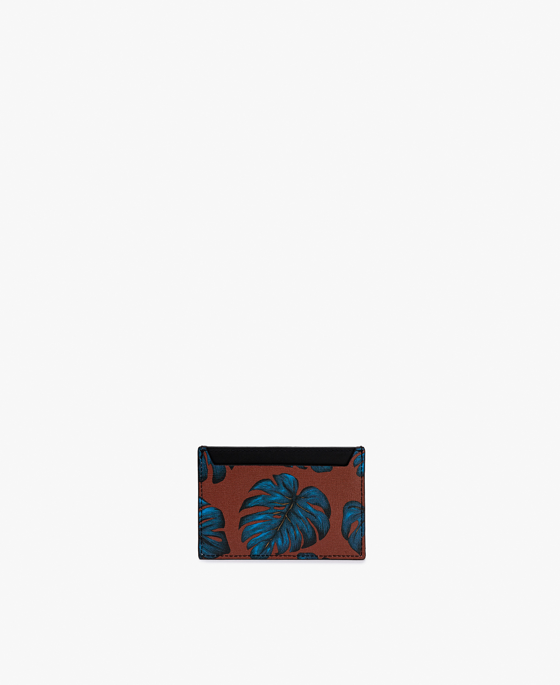 woman leather card holder