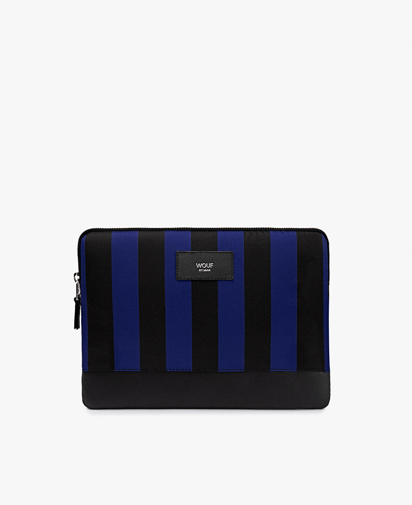 blue and black ipad case for man