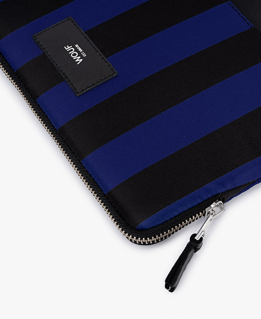 striped ipad case for man