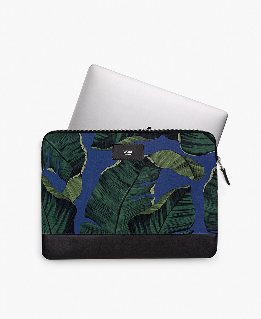 blue laptop cover for man